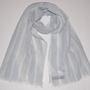 Eileen Fisher India Sky Striped Scarf Wrap